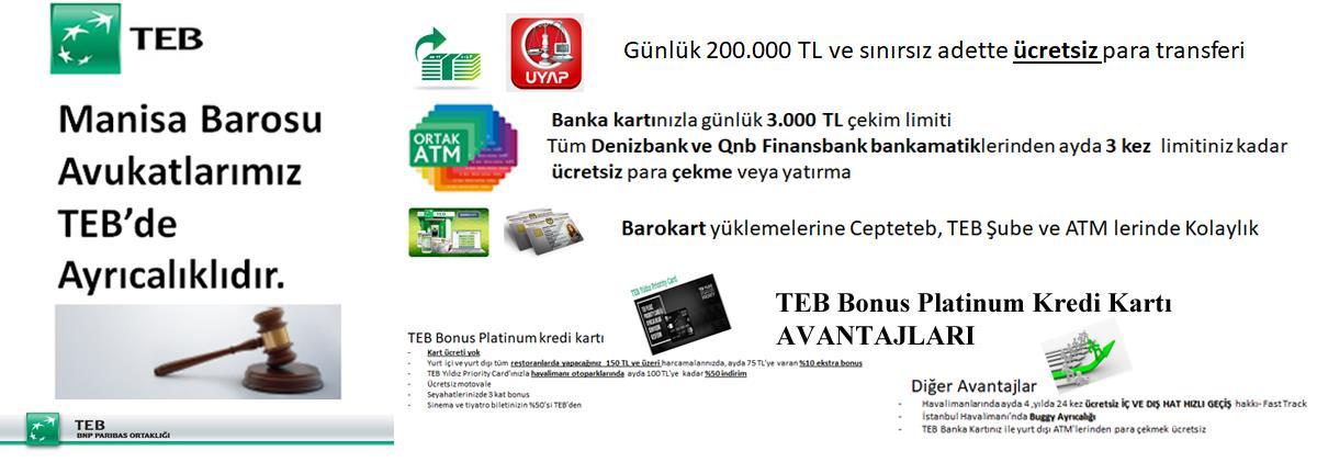 09.07.2019 TEB Bankasının Avantajları
